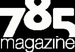 785 Mag Logo White